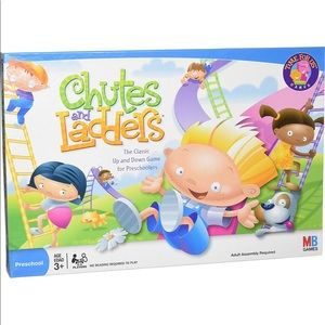 NWT Chutes & Ladders Board Game